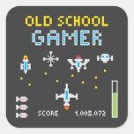 Old School Gamer - Stellarship - Sticker