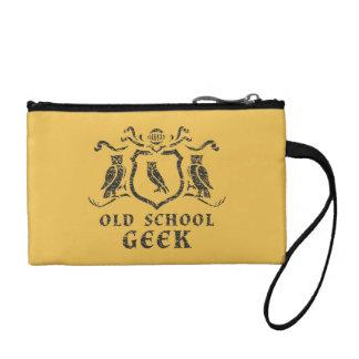 Old School Geek Owl Key Coin Clutch Coin Purses