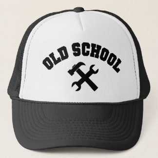 Old School Handyman - Home Repair Tools Craftsman Trucker Hat