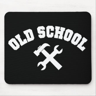 Old School Handyman Mousepad
