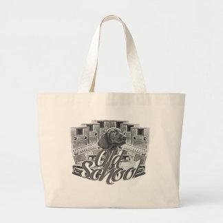Old School Jumbo Tote Bag