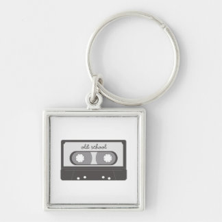 Old School Key Ring