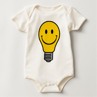 Old school lightbulb baby bodysuit