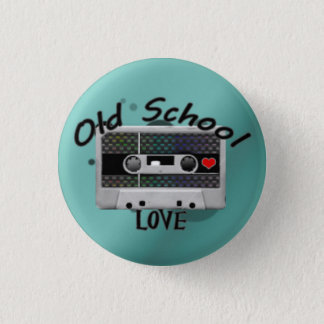 Old School Love 3 Cm Round Badge