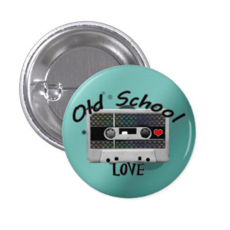 Old School Love 3 Cm Round Badge