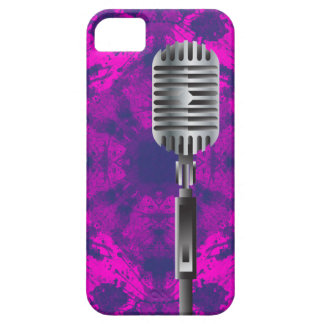 Old school microphone iPhone 5 cover