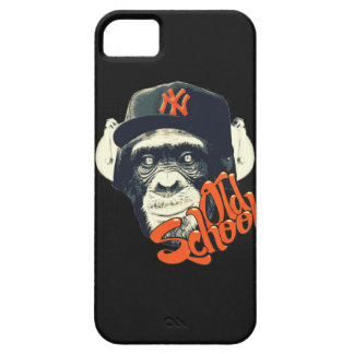 Old school monkey barely there iPhone 5 case