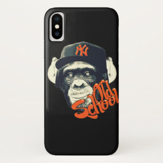 Old school monkey iPhone x case