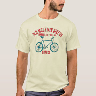 Old School Mountain Bike T Shirt