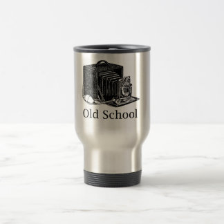 Old School Photographer Travel Mug