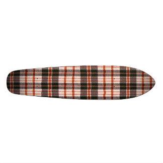 Old School Plaid Skateboards