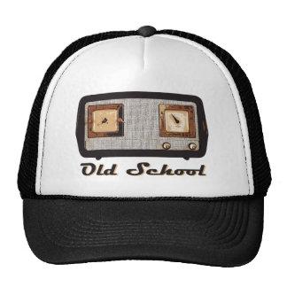 Old School Radio Retro Vintage Trucker Hat