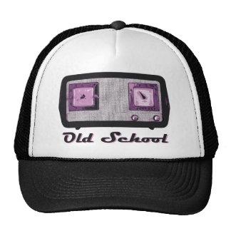 Old School Radio Retro Vintage Mesh Hats