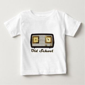 Old School Radio Retro Vintage Tshirt