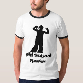 Old School Raver Ringer T T Shirts