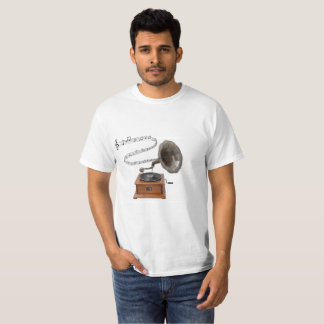 Old School Record Player T-Shirt