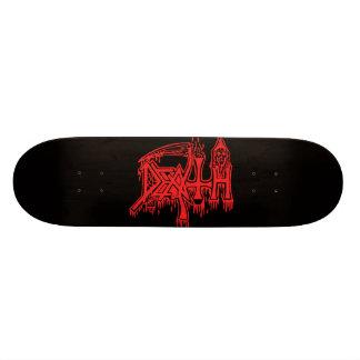 Old school red logo deck skate board decks