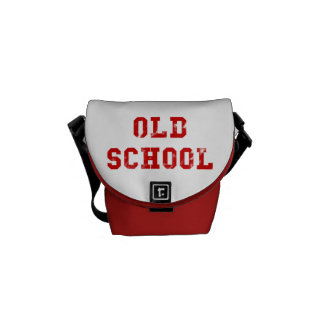 Old School Red Messenger Bag | Oldskool gifts