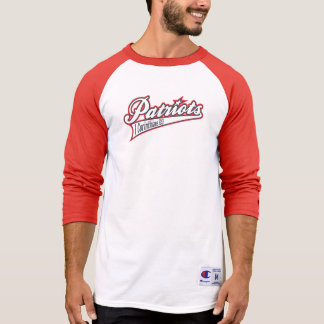 Old School Red/White Raglan T-Shirt