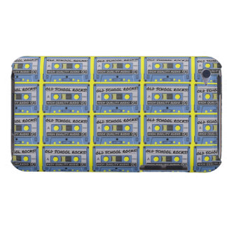 Old School Rocks Cassettes iPod Touch Cover