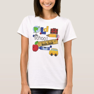 """Old School Rules"" Personalized T-Shirt"