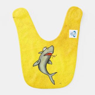 Old School Sailor Shark Bib
