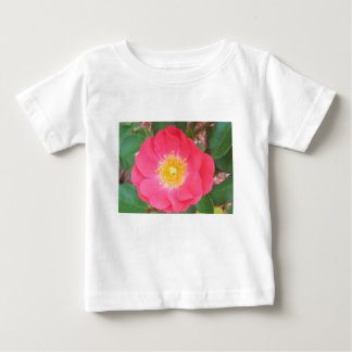 Old School Salmon colored rose Baby T-Shirt