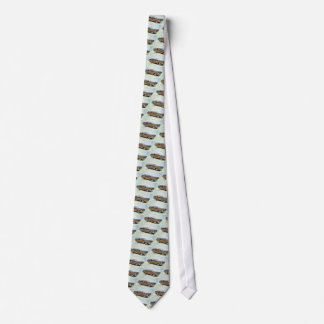 old school station wagon tie