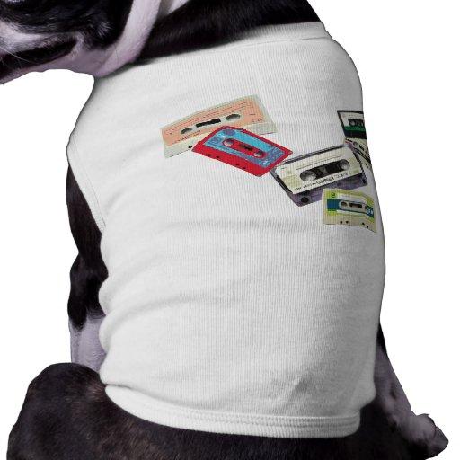 old school tape decks doggie shirt