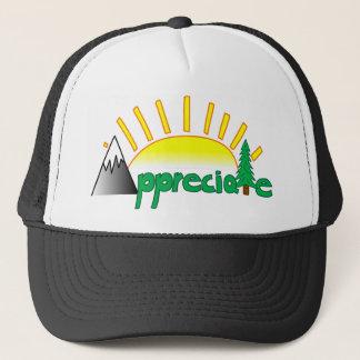 Old School Trucker Appreciate Hat