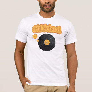 Old School Vinyl Record T-Shirt