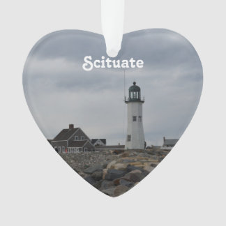 Old Scituate Lighthouse Ornament