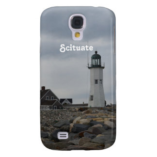 Old Scituate Lighthouse Samsung Galaxy S4 Covers