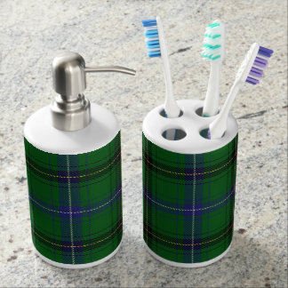 Old Scots Clan Henderson Tartan Plaid Bathroom Set