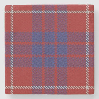 Old Scots Tavern Clan Hamilton Tartan Stone Coaster