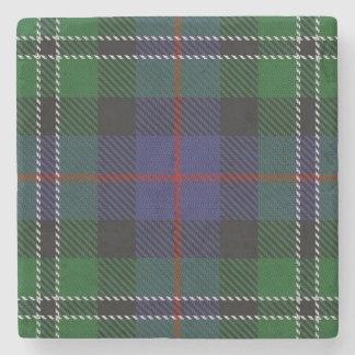 Old Scots Tavern Clan Rose Hunting Tartan Stone Coaster