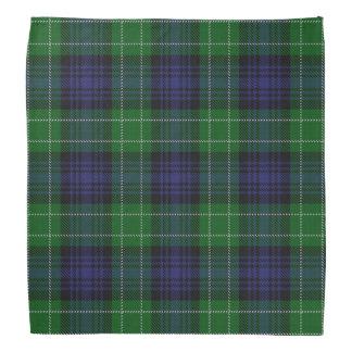 Old Scotsman Clan Abercrombie Tartan Plaid Bandana