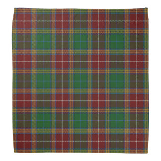 Old Scotsman Clan Baxter Tartan Plaid Bandana