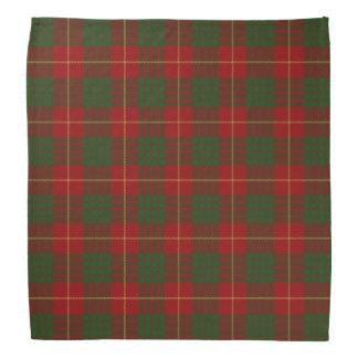 Old Scotsman Clan Cameron Tartan Plaid Bandana