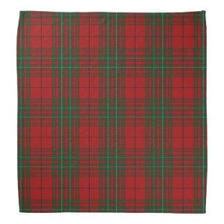 Old Scotsman Clan Cumming Cummings Red Tartan Bandana