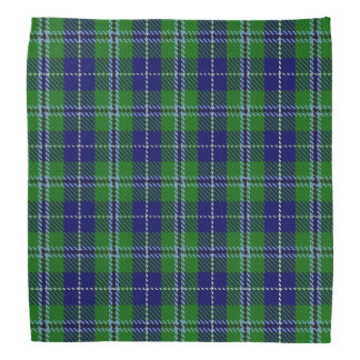 Old Scotsman Clan Douglas Tartan Plaid Bandana