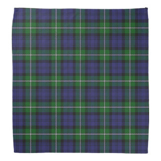 Old Scotsman Clan Forbes Tartan Plaid Bandana