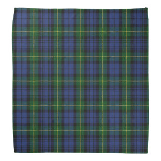 Old Scotsman Clan Gordon Tartan Plaid Bandana