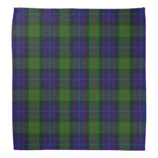 Old Scotsman Clan Gunn Tartan Plaid Bandana