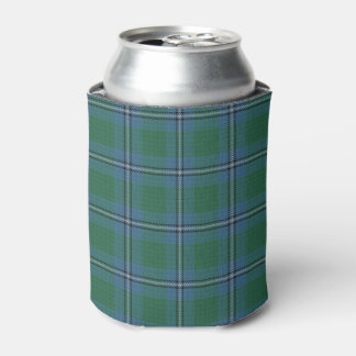 Old Scotsman Clan Irvine Irwin Tartan Can Cooler