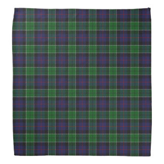 Old Scotsman Clan Leslie Hunting Tartan Plaid Bandana