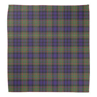 Old Scotsman Clan MacLellan Tartan Plaid Bandana