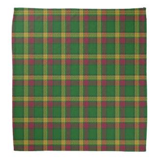 Old Scotsman Clan MacMillan Tartan Plaid Bandana
