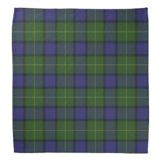 Old Scotsman Clan Muir Tartan Plaid Bandana
