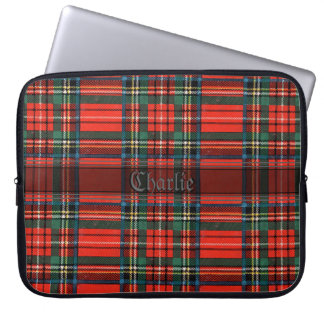 Old Scottish Tartan Laptop Sleeve
